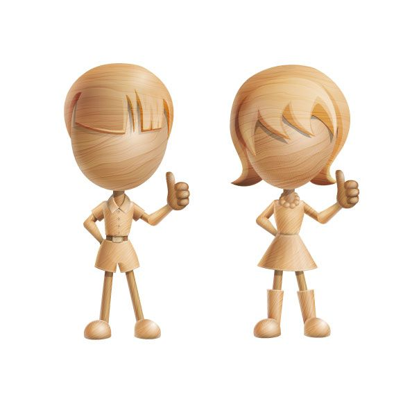 3D vector characters made of wood that will fit to any kind of design related artworks. No matter what's the case, our lovely couple here will help you to present your projects in an attractive way. Besides, this set is a freebie and you don't have to pay anything for it. Continue reading →