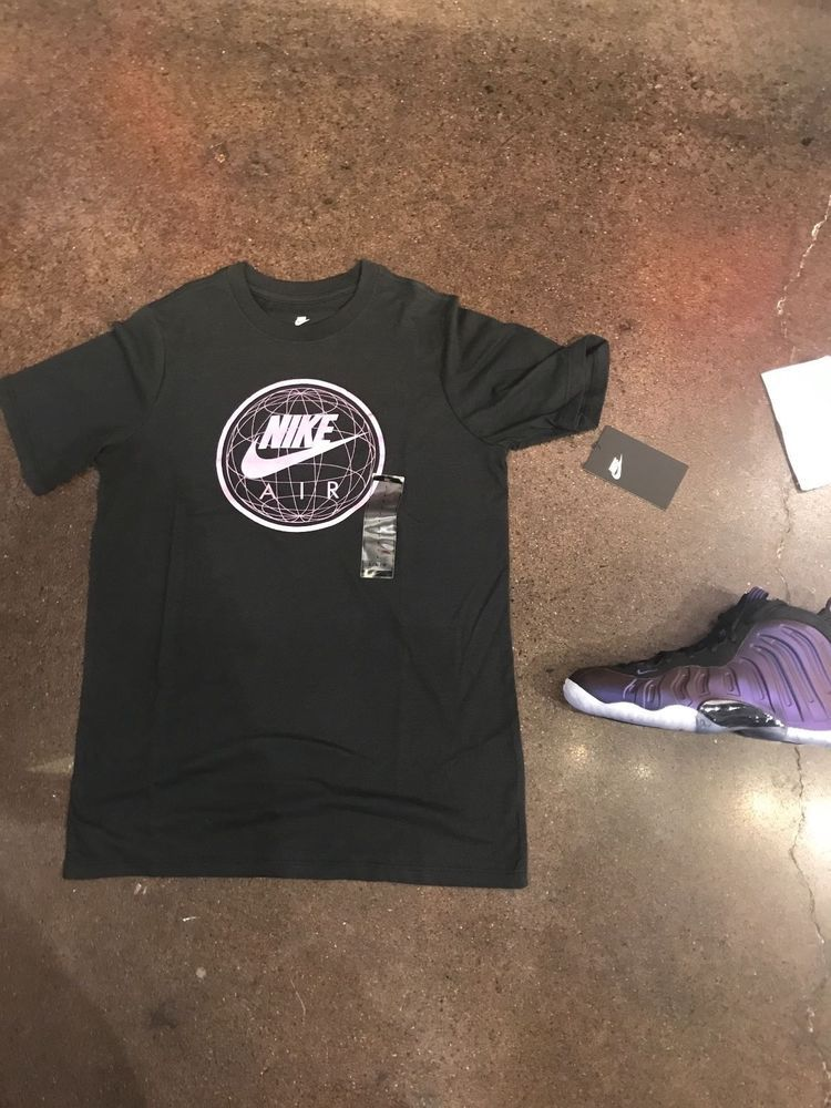 a7d86ccabf6b5 NIKE GRAPHIC T-SHIRT FOAMPOSITE ONE MATCHING  EGGPLANT PURPLE  GRADE SCHOOL  S-XL  Nike  Everyday