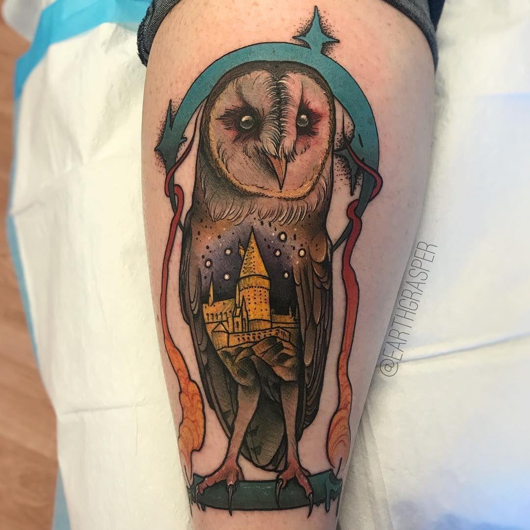 Top 10 Harry Potter Tattoos by earthgrasper Harry