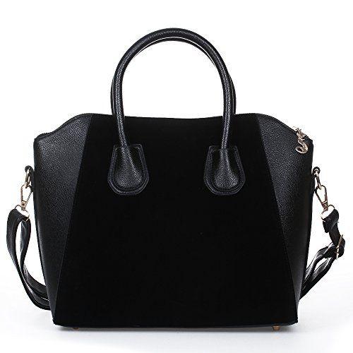 HYP Sac a Main Femme Sac Cabas Bandouliere La main, ce sac de voyage sac épaule double, gris clair