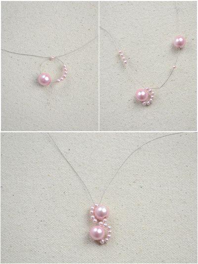 How to make a pearl bracelet. Diy Bracelets With Beads  Wavy Bracelet Crafts For Kids  - Step 2
