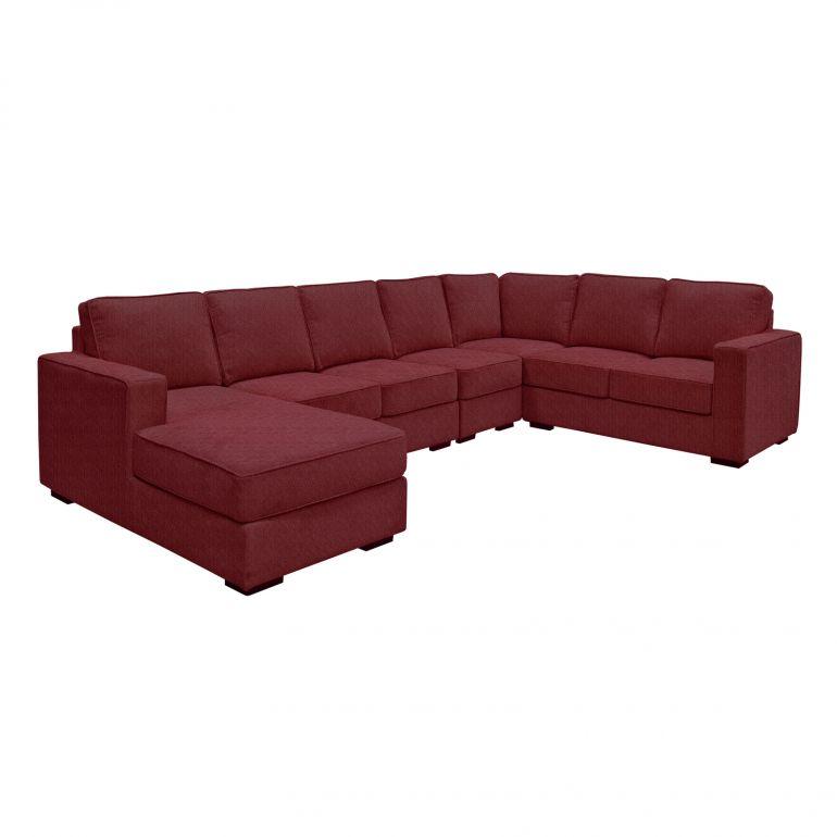 Kingkoil Bernice Modular Sofa Fab Mto Fabric Sofa Set Modular Sofa Fabric Sofa Sofa Set