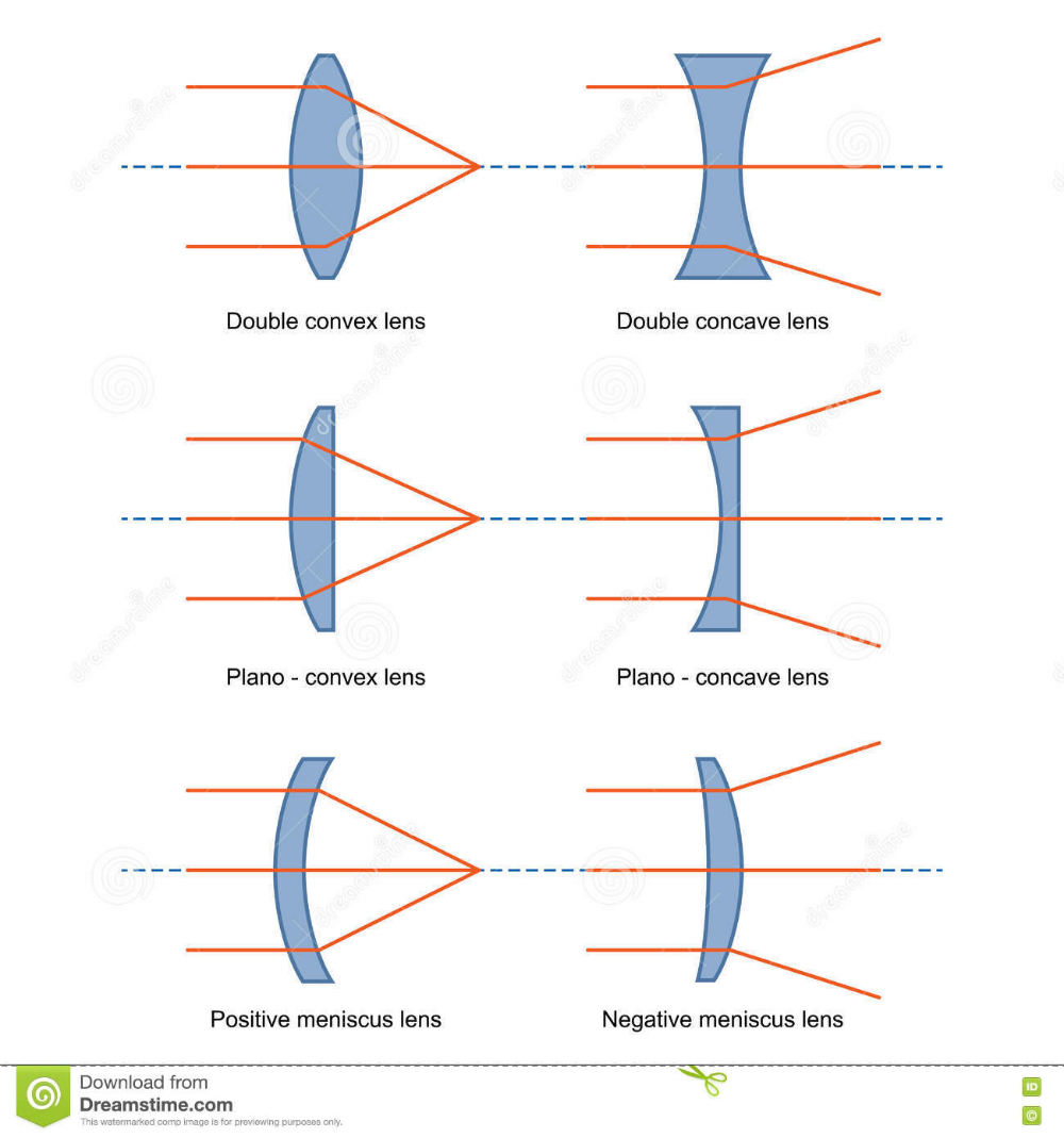 Pin By 先生 桂 On 常識 Diagram Lens Concave