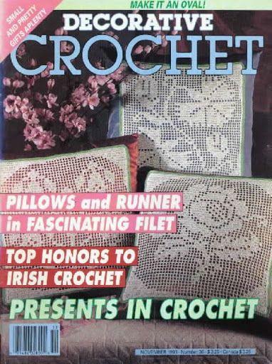 Decorative Crochet Magazines 24 - Tanja Tanja - Picasa Web Albums...