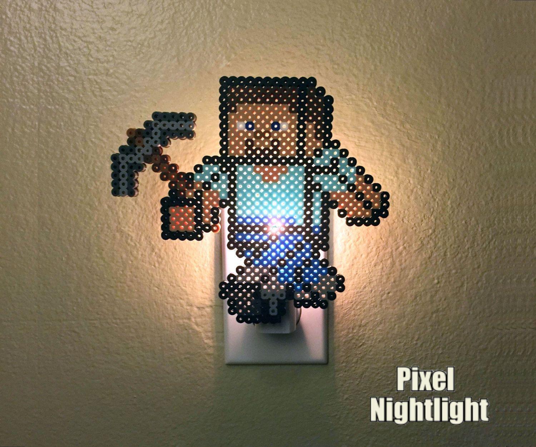 Perler Beads Minecraft Steve 3d 17376 Newsmov