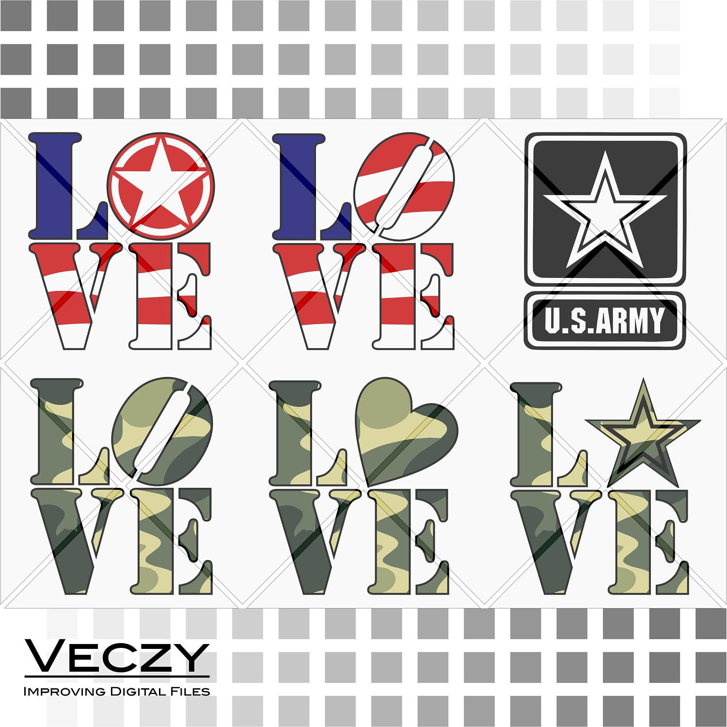 Download Army SVG, army love, 4th of july svg, Oskar Mike Army Star ...