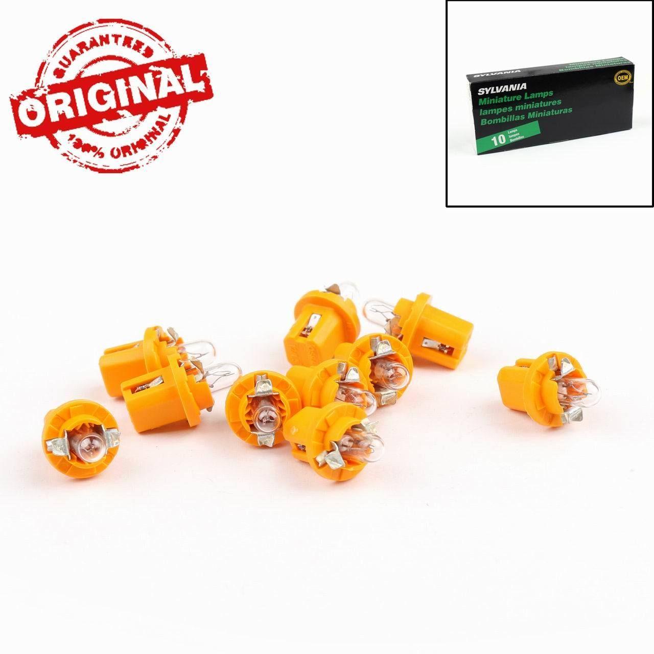 10PCs OSRAM 2752MFX 12V 1.5W BX8.5d Sylvania Miniature Lamps Singal Bulbs
