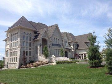 Barclay Fieldstone Estates Toronto Fourteen Estates Traditional Exterior Architecture House Styles