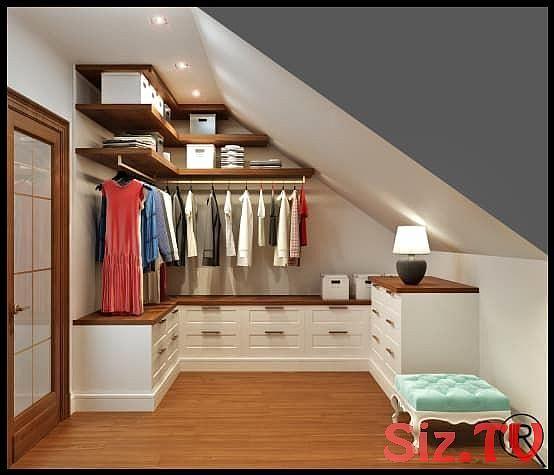Loft Bedroomdesign: Kleine Ankleidezimmer Perfekt Einrichten Kleine