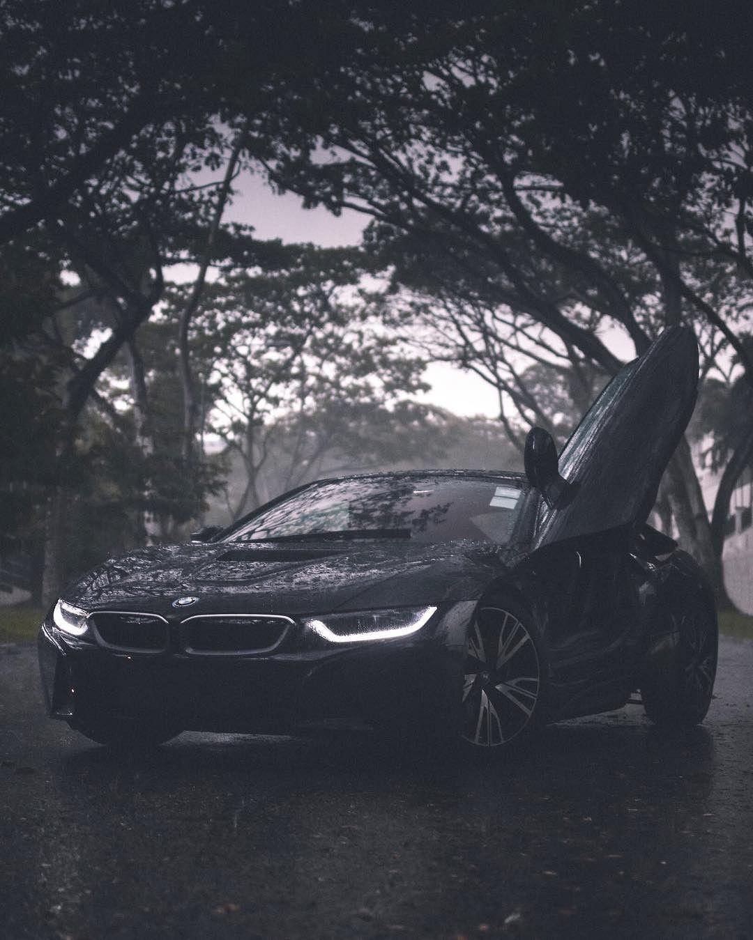 Bmw I8 Black Rain Bmw I8 Bmw Bmw I8 Black