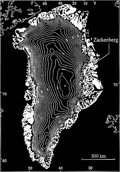 Zackenberg, Groenlandia.- sitio del descubrimiento SCP- a finales del 2001