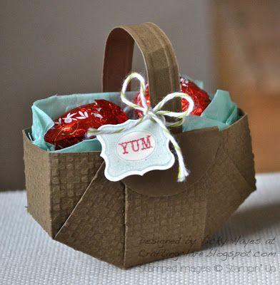 A proper baskety Easter basket