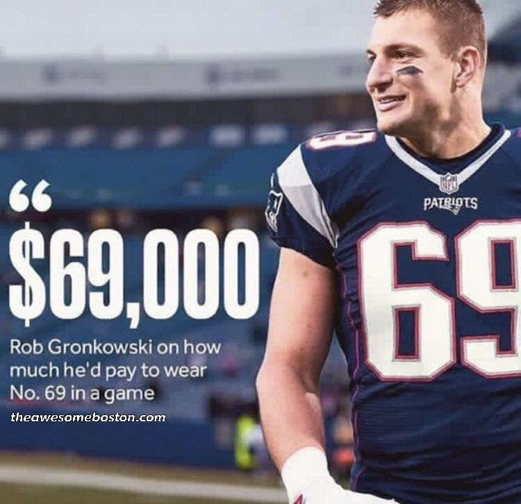 nfl gronk jersey