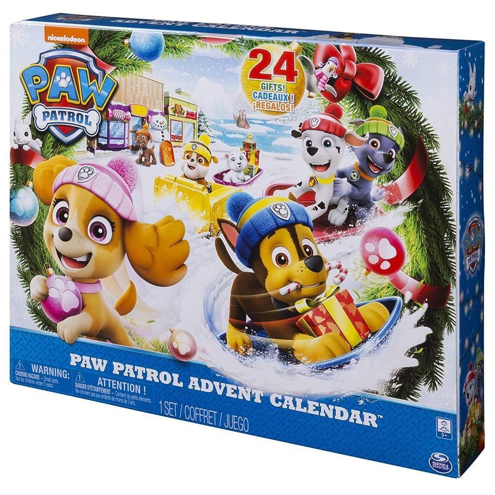 Advent Calendar Christmas Countdown 24 Days Paw Patrol Holiday