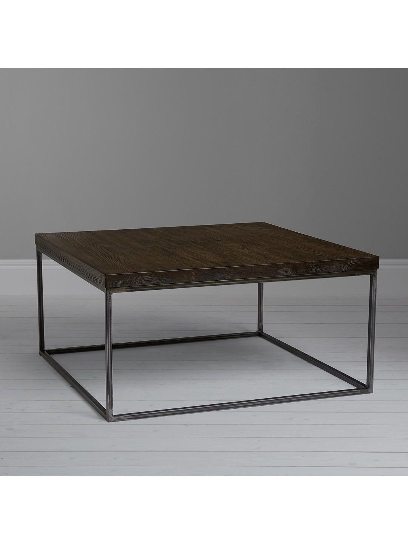 John Lewis Partners Calia Coffee Table Oak Wood Slats Table