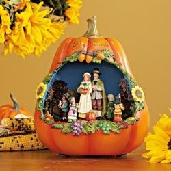 "Musical ""Give Thanks"" Pumpkin"