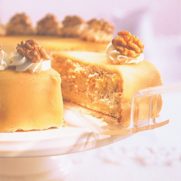 Marzipan-Nuss-Torte   Marzipan nuss torte, Rezepte