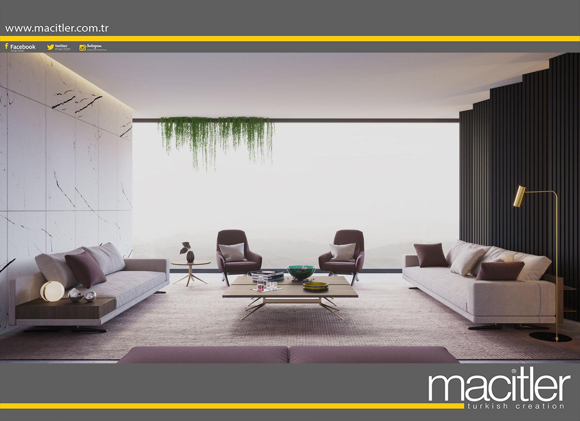 Oturma Odanizin Stilini Belirleyecek Modern Koltuk Takimlari Size Ozel Olcu Ve Renkte Macitler Mobilya Magazalarinda M Mobilya Oturma Odalari Ev Dekorasyonu