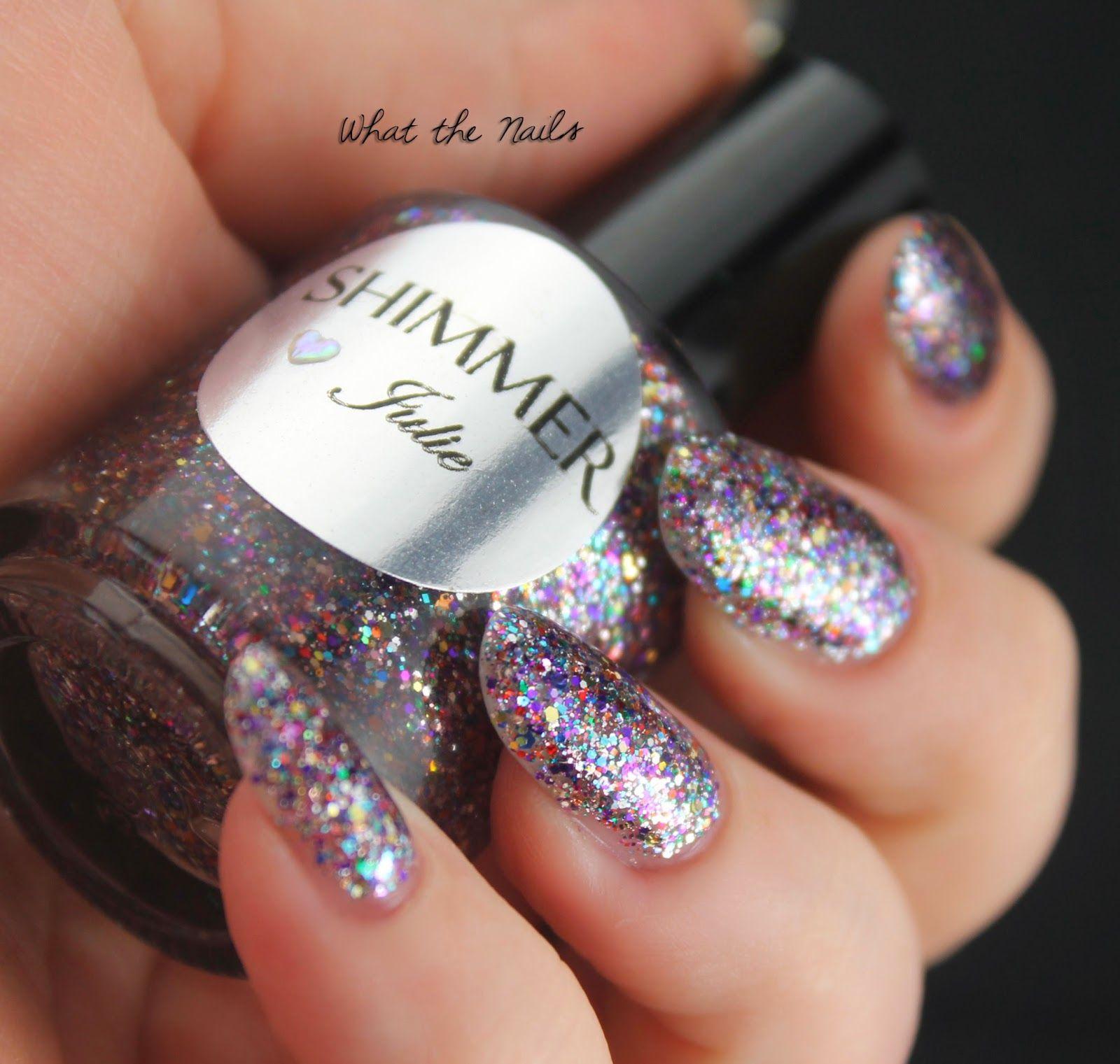 Shimmer Polish Julie What the Nails Nail shimmer