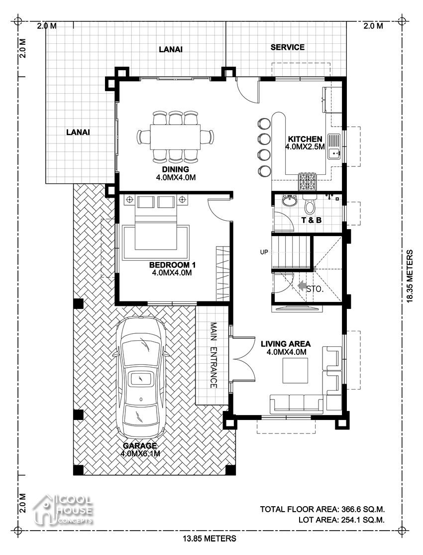 Chc18 014 Pinoy Eplans In 2020 House Plans My House Plans Home Design Plan