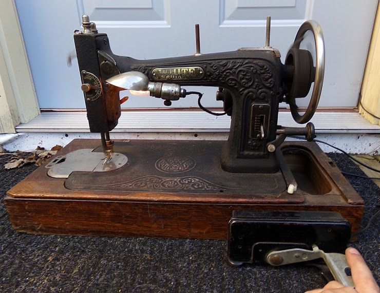 Circa 40 I Think It Was Rewired Motorized White Sewing Machine I Impressive 1927 White Rotary Sewing Machine