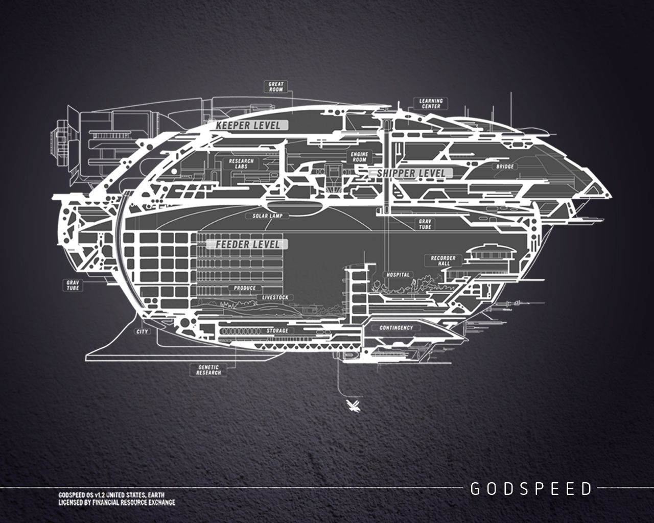 Blueprints for the godspeed spaceship in the across the universe blueprints for the godspeed spaceship in the across the universe series by beth revis malvernweather Images