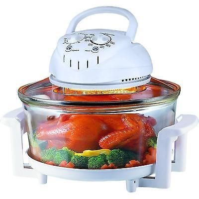 Turbo Convection Oven 12 Quart Cooker, Glass Bowl Convection Oven Recipes