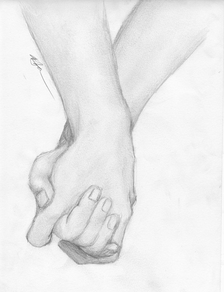 Manos agarrndose hermoso  Dibujo  Pinterest  Sketches Hand