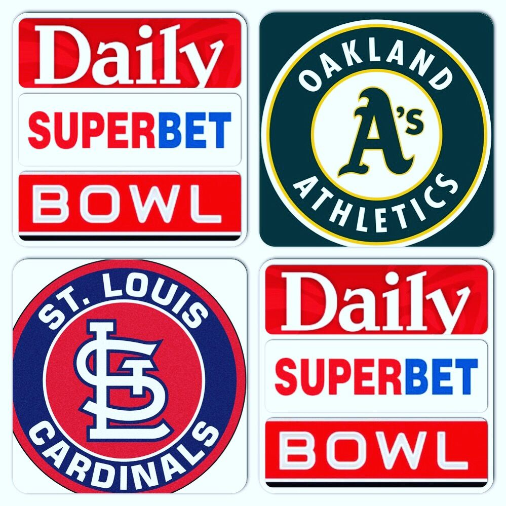 Daily Super Bet Bowl Super Bet Bowl Daily Watch Party Mlb Date 6 25 19 Time Est 8 15pm O Oakland Athletics St Louis Cardinals Watch Party