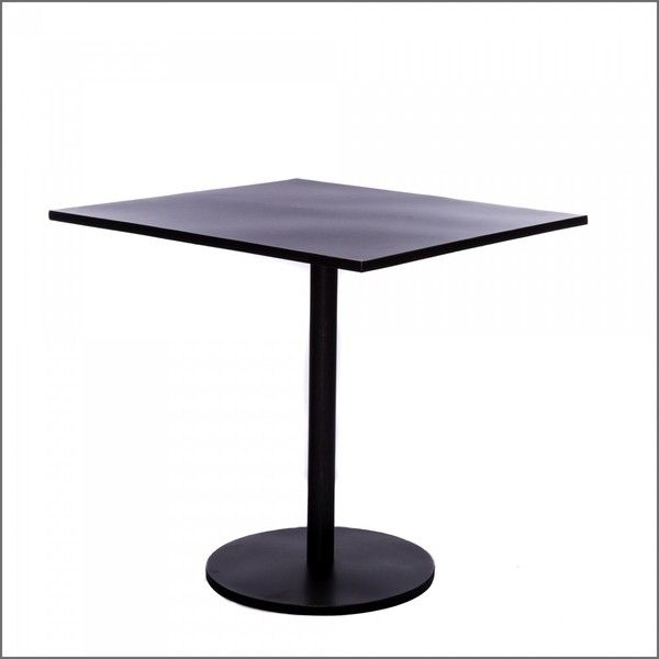 French Square Bistro Table (3,335 MXN) ❤ Liked On Polyvore