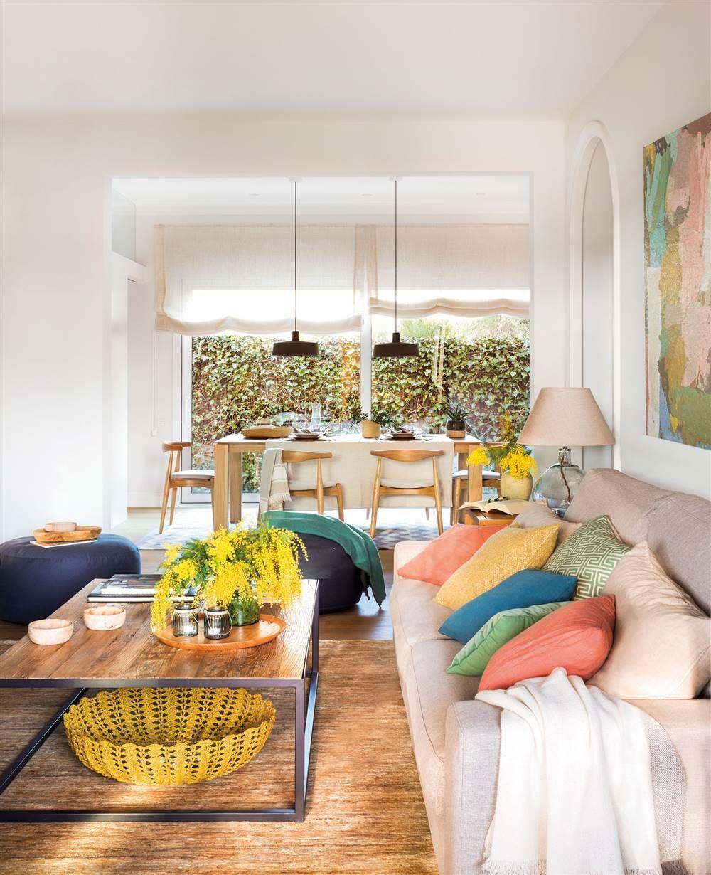 Cómo decorar un salón estrecho y alargado  Decorar salon