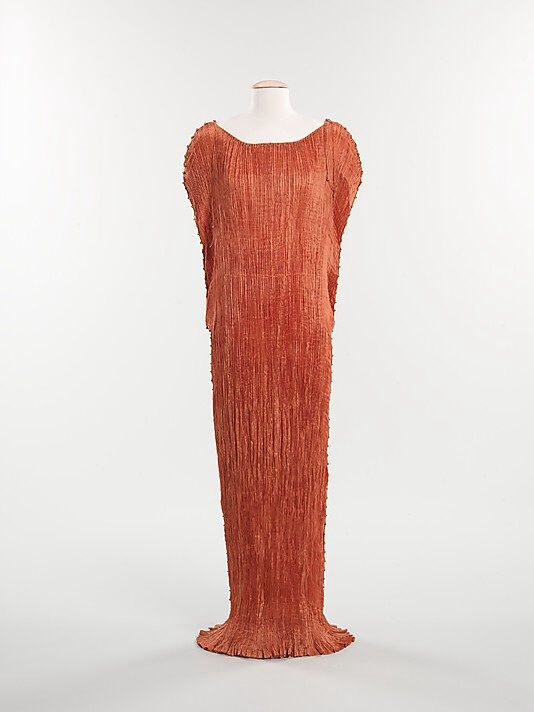 Delphos Fortuny Italian Founded 1906 Designer Mariano Fortuny Spanish Granada 1871 1949 Venice Date Ca 193 Fortuny Dress Fashion Costume Collection