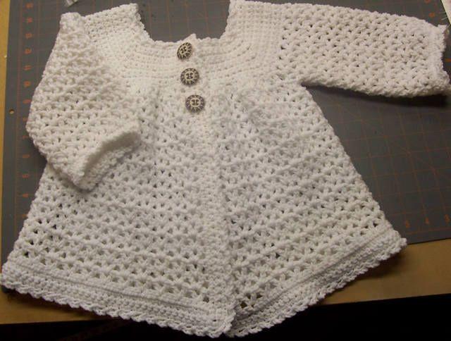 Free Easy Crochet Patterns Easy Crochet Baby Sweater Pattern