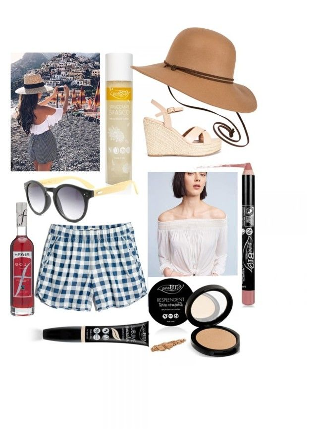 """""""Sustainable Italy look #3"""" by sustainableoutfits ❤ liked on Polyvore featuring Madewell, prAna and Bailey 44"""