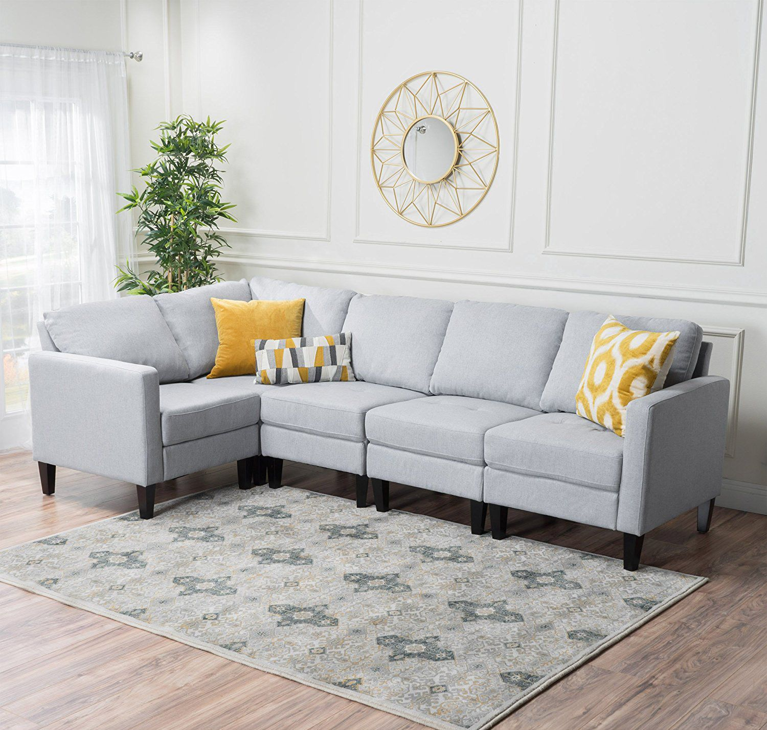 Best 12 Gray Sofas We Love Right Now Under 1 000 Couch With 640 x 480