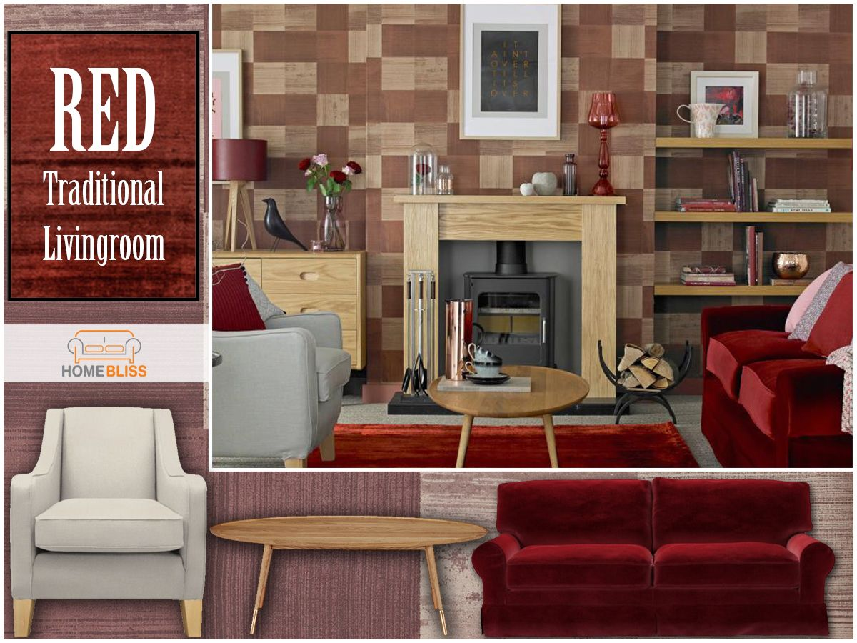Living room furniture names - Homebliss Collections Red Traditional Living Room Follow Us On Fb Page Name Homebliss