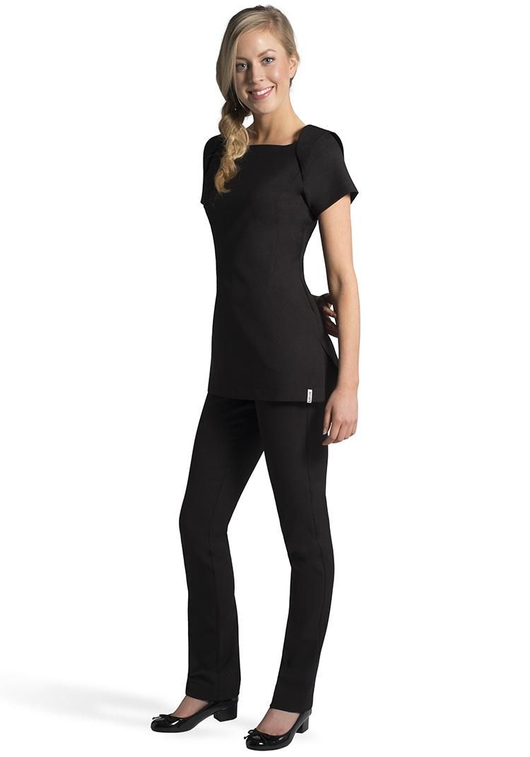 Florence roby beauty uniforms beauty tunics salon wear for Spa uniform canada