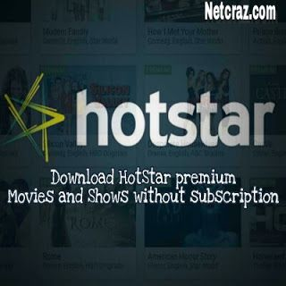 Download HotStar premium movies without any subscription