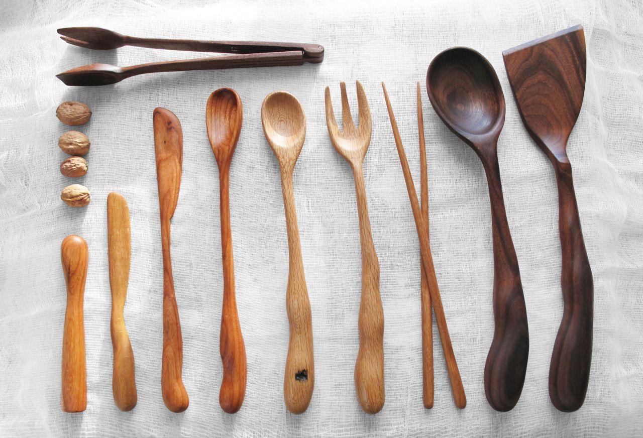 Wooden Cooking Utensils Designed by Linda Hsiao. | Homewares ...
