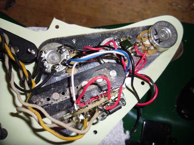 Stratocaster Blender Wiring Diagram Telecaster Custom Wire