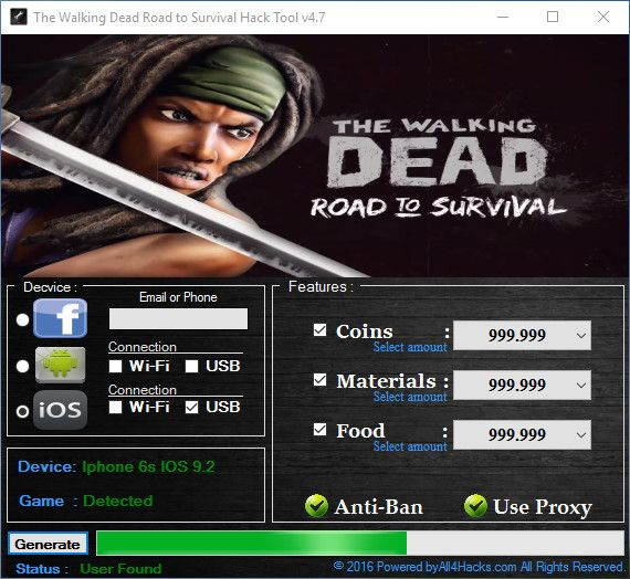 The Walking Dead Road To Survival Hack Cheat All4hacks Com