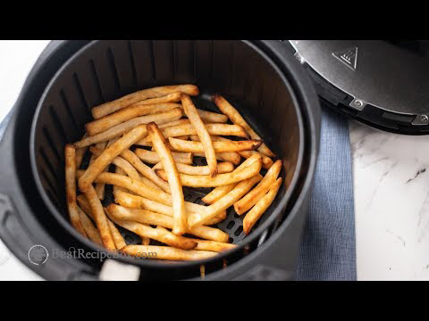 Air Fryer Frozen French Fries Recipe. How to make frozen