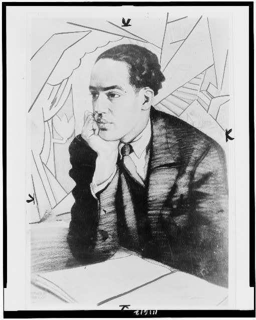 Photo: Langston Hughes, 1927 by Winold Reiss