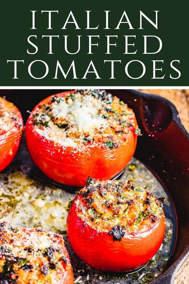 Photo of Easy Stuffed Tomatoes With Ricotta Salata And Parsley –  #