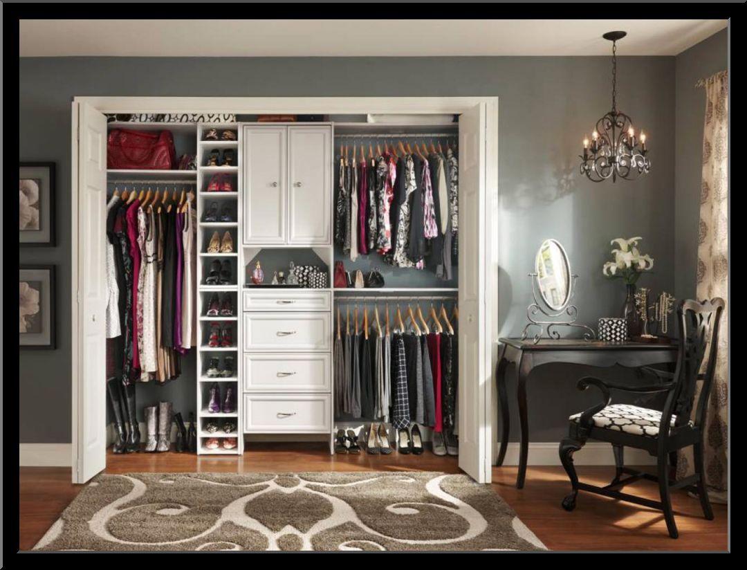 5 Foot Closet Design Ideas Closet Remodel Closet Bedroom Ikea Closet Organizer