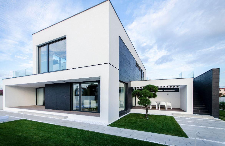 Fachadas de casas minimalistas façades pinterest