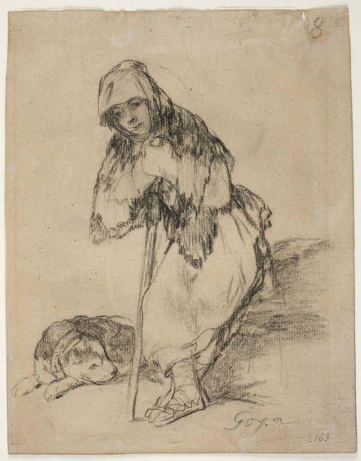 Goya en El Prado: Pastora pensativa