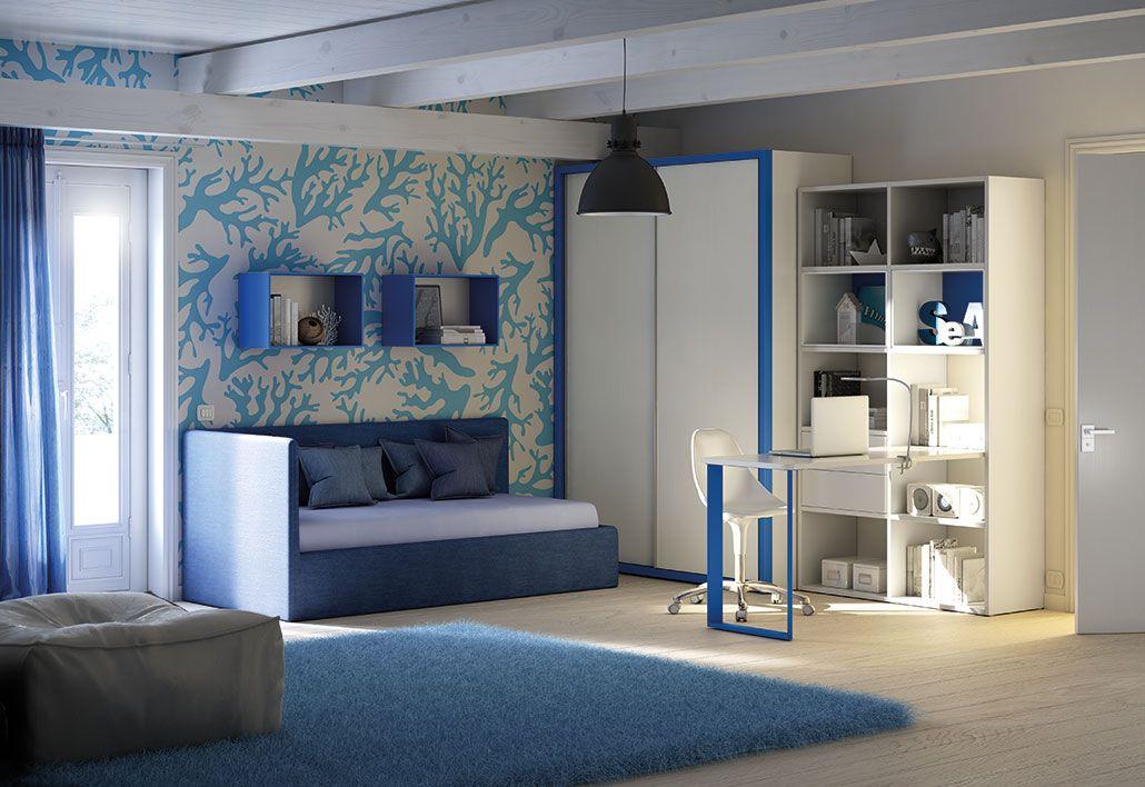 Camerette Moretti Compact Camerette, Design stanza dei