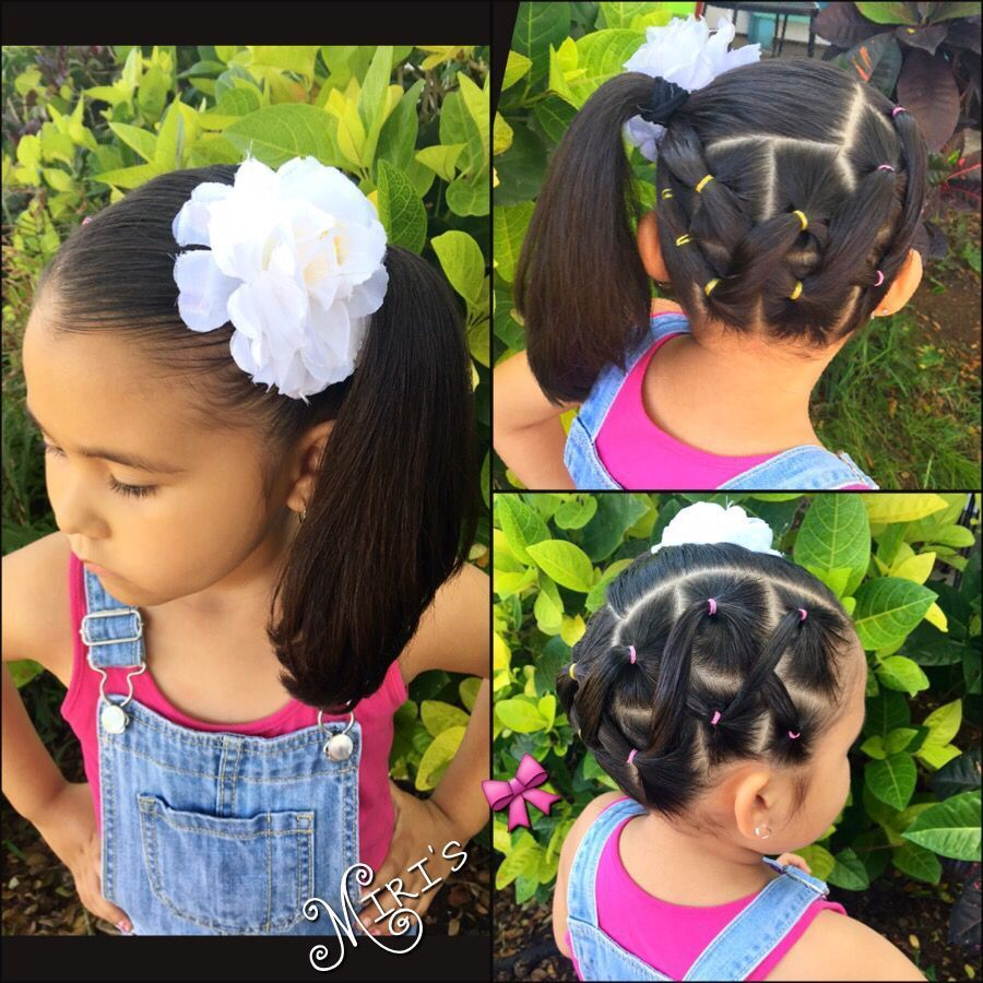 Hair style for little girls natural hairstyles pinterest hair