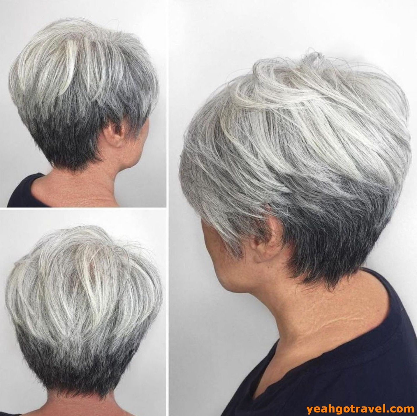 36 Most Coolest Short Grey Haircuts We Love Yeahgotravel Com Haircuts For Fine Hair Hair Styles For Women Over 50 Short Grey Haircuts